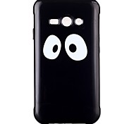 Eye Pattern TPU Phone Case for Galaxy J2/Galaxy J1 Ace
