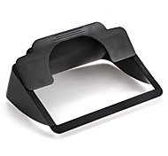 "Clip-on Sun Shade Visor for 6"" Screen Car GPS Navigation Black High Quality"