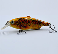 Hot 4 Inch 14.5 G Top Water Live Like Brown Trout Fishing Lures for Freshwater Fishing