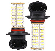 2 HB4 9006 102 SMD LED White Car Fog Bulb Lamp Light