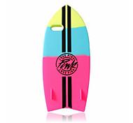 venta caliente de la manera de silicona suave cubierta de tabla de surf nueva caja del teléfono para el iphone 6 / 6s (colores surtidos)
