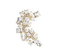 Fashion Crystals Menisci Ear Clip Earring