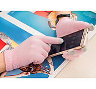 Solid Color Touch Gloves For iPhone