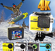 HD18Plus 2 Inch WIFI Action Cam Ultra HD 4K 20.0MP 1080P 170 Degree Camera Camcorder DVR with Remote Control