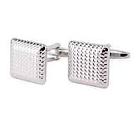 Square Cellular Model Men's Cufflinks