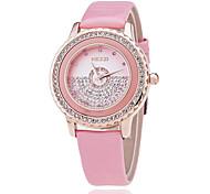 montres PU loisirs ceinture dames de montre femme coréenne dentelle de mode montre de mode de diamant