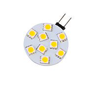 4W G4 Luces LED de Rail G45 9 SMD 5050 380 lm Blanco Cálido Decorativa 09.30 V 4 piezas