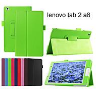 Schutz Tablet-Taschen Ledertaschen Halter Holster für Lenovo Registerkarte 2 A8