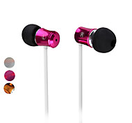 3,5 mm estéreo v8 in-ear auriculares