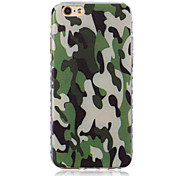 Green Pattern TPU Soft Case for iPhone 6/iPhone 6S