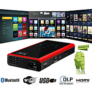 ejiale® android4.2 FWVGA DLP wifi mini proyector hdmi, usb, tf, av (e06s)