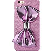 de haute qualité cas de motif papillon noeud pour iphone 6 (couleurs assorties)