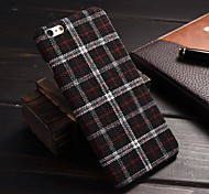 England Plaid Material Quality Feel Phone  Case for iPhone 6/6S (Assorted Colors)