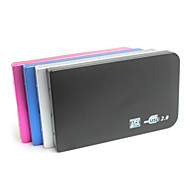 """""""YuanBoTong 2.5 Inch Sata to USB 2.0 External Case (Assorted Color)"""