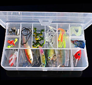 "Cebos Pececillo 1 pcs , 20 g / 16 Onza , 100 mm / 1"" pulgada fantasma Plástico duroPesca de Mar / Pesca de baitcasting / Pesca de pez"