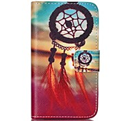 Dreamcatcher Painted PU Phone Case for Galaxy S2 I9100