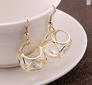 Explosion models European and American fashion happiness Cube earring earring jewelry