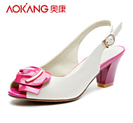 Aokang® Women's Leather Sandals - 132711080