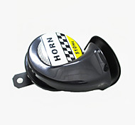 12V Snail Motorcycle Horn Enhanced Treble Moped Scooter Dirt Bike Speaker Tone 510HZ Car Sound Air Horn
