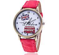 Woman's Watches London Bus British National Flag Watch Cool Watches Unique Watches