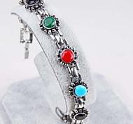 Sun Gem Diamond Alloy Vintage Decoration Bracelet