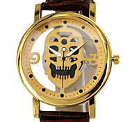 Hollow Out Skulls, Men's Belts Quartz Watch Wrist Watch Cool Watch Unique Watch