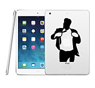 Transparent Creative PC Hard Back Case for iPad 2 iPad 3 iPad 4