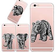 maycari®king de la naturaleza TPU caso para el iphone 5 5s / iphone (colores surtidos)