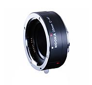 kooka kk-c25a Aluminiumlegierung af Verlängerungsrohr mit TTL-Belichtungsautomatik für Canon 25mm Eingänge ef&EF-S-SLR-Kameras