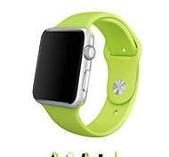 Sport Winding Silicone Watchband With The Connector Two-piece dress for Apple Watch 38mm/42mm (Assorted Colors)