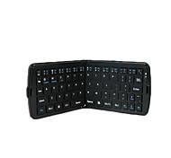 ezapor ez605 twee vouwen magnetische universele bluetooth toetsenbord voor windows / ios / android black