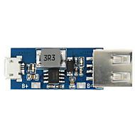 3.7v litio scheda caricabatterie carica / convertitore boost / protezione di tre in un unico modulo