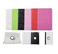 New Arrival Fashion Flower 360 Rotate Pu leather Case Cover Auto Sleep/Wake Up for ipad Mini 4