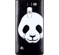 Panda Pattern TPU Phone Case for LG Leon  H340N/LG Spirit H422/Magna H502