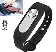 Tracker atividade wr-06 wearable pulseira pulseira 8gb gravador digital relógio de pulso de gravação de longo tempo
