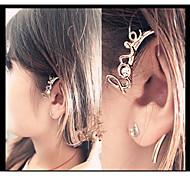 Love2Sis Fashion Design Earrings GoldenTexture LOVE Letter Diamond Ear Hook Earrings *1Pc