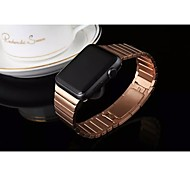 1:1 Origial Stainless Band Arc buckle Removable for Apple Watch 38mm/42mm golden Rose, Gold, Black and Silver