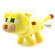 Baby Creeper Yellow Ocelot Cat Plush Animal Toy (24cm)