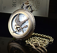 Hunger Games 3 Xinghuoliaoyuan  Bird laugh Vintage Shiying Huai table Flip pocket watch Necklace Watches