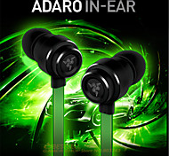 Original Adaro metal HiFi headset DJ stereo Noise Isolation Bass Gaming Headset monitor headphones for Samsung S6