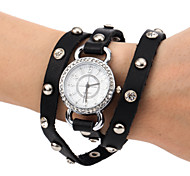 Women's Leather Bracelet Fashion Quartz Watch