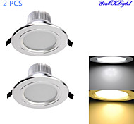 7W Luci a sospensione 15 SMD 5630 700 lm Bianco caldo / Luce fredda Decorativo AC 85-265 V 2 pezzi
