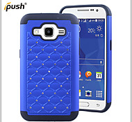 Bling Star Crystal Rhinestone Diamond Case Silicon Case with PC Case for Samsung Galaxy Core Prime (Assorted Colors)