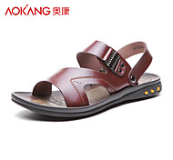 Aokang® Men's Leather Sandals - 141723070