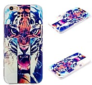 Plus iphone6 tiger cross pattern 3D mobile phone shell