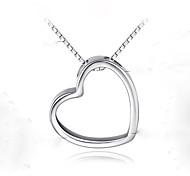 S925 silber Silber Anhänger Herz-Anhänger in Herzform Silber Anhänger