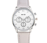 Fashion Men's Luxury Casual Quartz Leather Band Wristwatch