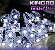 6.5M 30LED Solar Diamond String Lights Fine Party Decortation lights