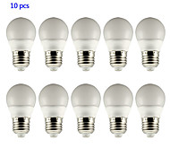 YangMing® E26/E27 3W LED Globe Bulbs 5 SMD 5730 210lm Warm White / Cool White  AC 85-265V YangMing® 10 pcs