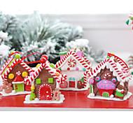 la maison de bonbons de Noël